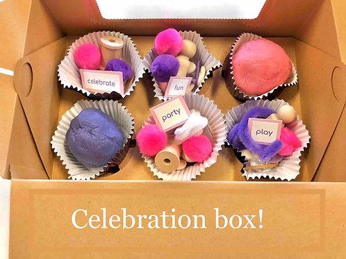 Pink and Purple Celebration Box