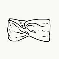 Bandeau tissu cheveux à personnalisé