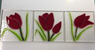 Small tulip windows or coasters