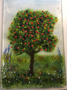 Apple tree window