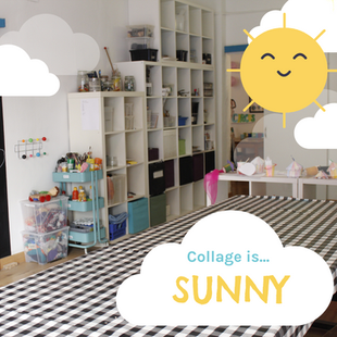 Collage is... sunny