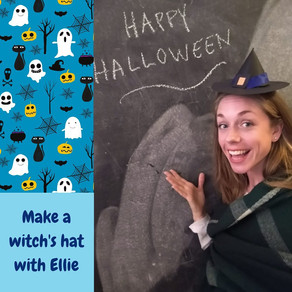 Make a witches' hat with Ellie