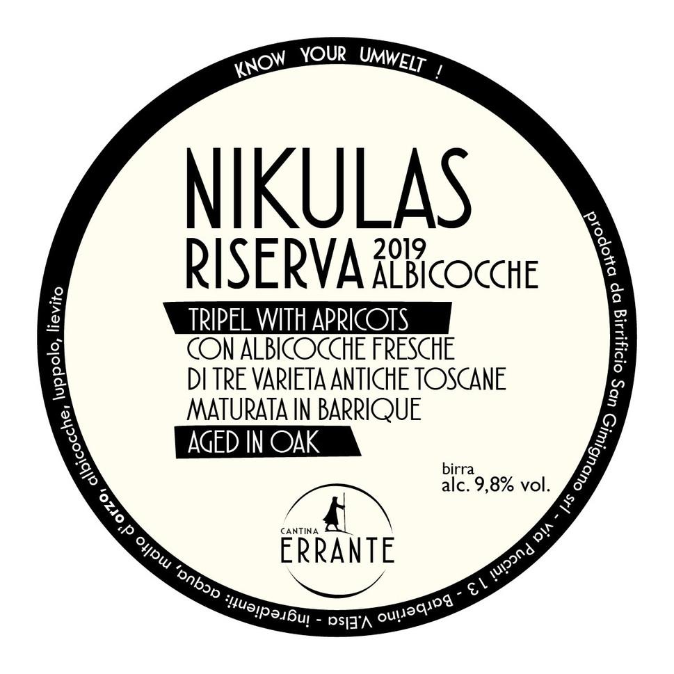nikulas riserva '19 albicocche fresche
