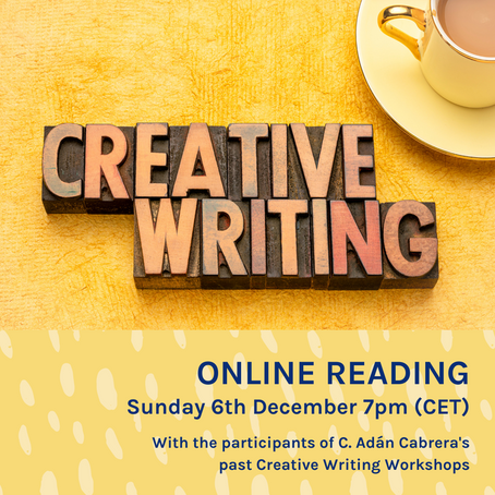 Online Reading this Sunday 6th December