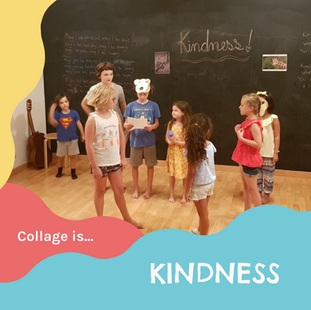 Collage is...kindness
