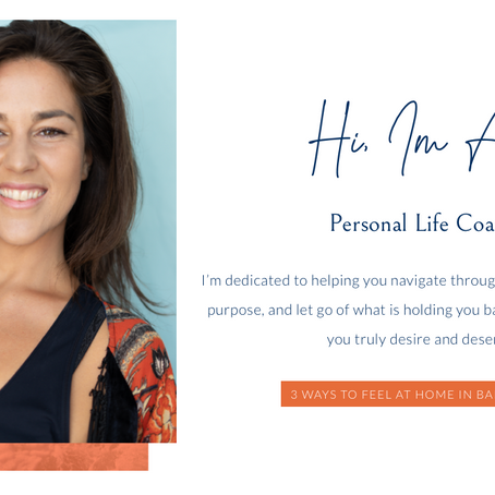 Life coaching with Ali Olivier