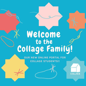 Welcome to the Collage Family!