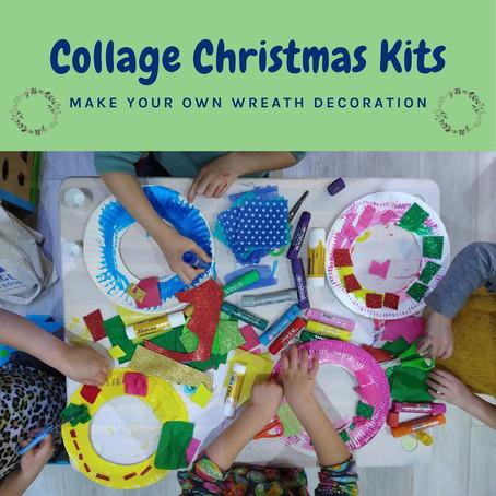 Collage Christmas Kits