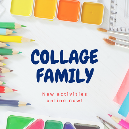 New Collage Family Activities