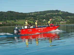 SRD_Pfaeffikersee - Einsatzboot Bison