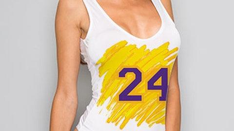 Lakers 24 Bodysuit