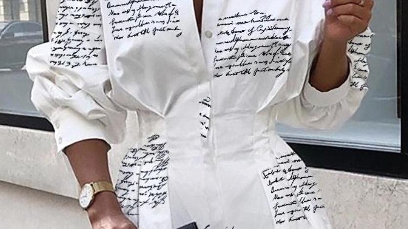 Written Dress