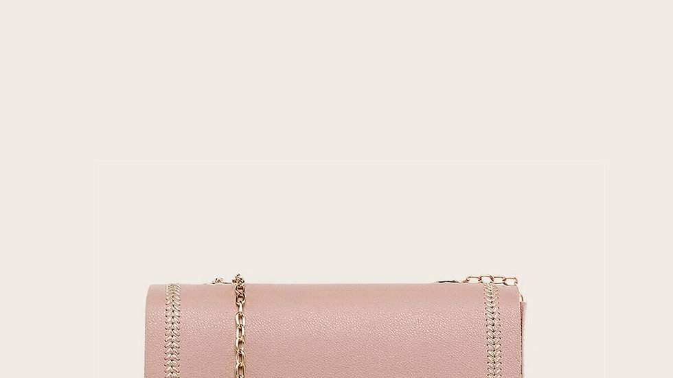 Lock Stitch Chain Bag