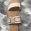 Thumbnail: Beige snake sandals