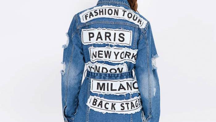 Fashion tour jacket