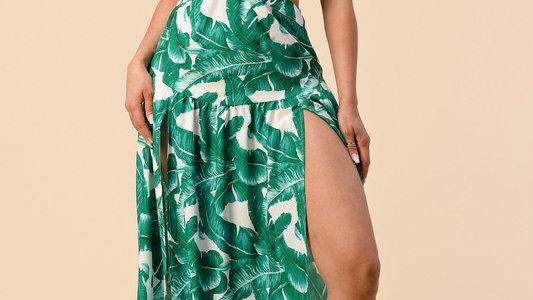 Safari Maxi Dress