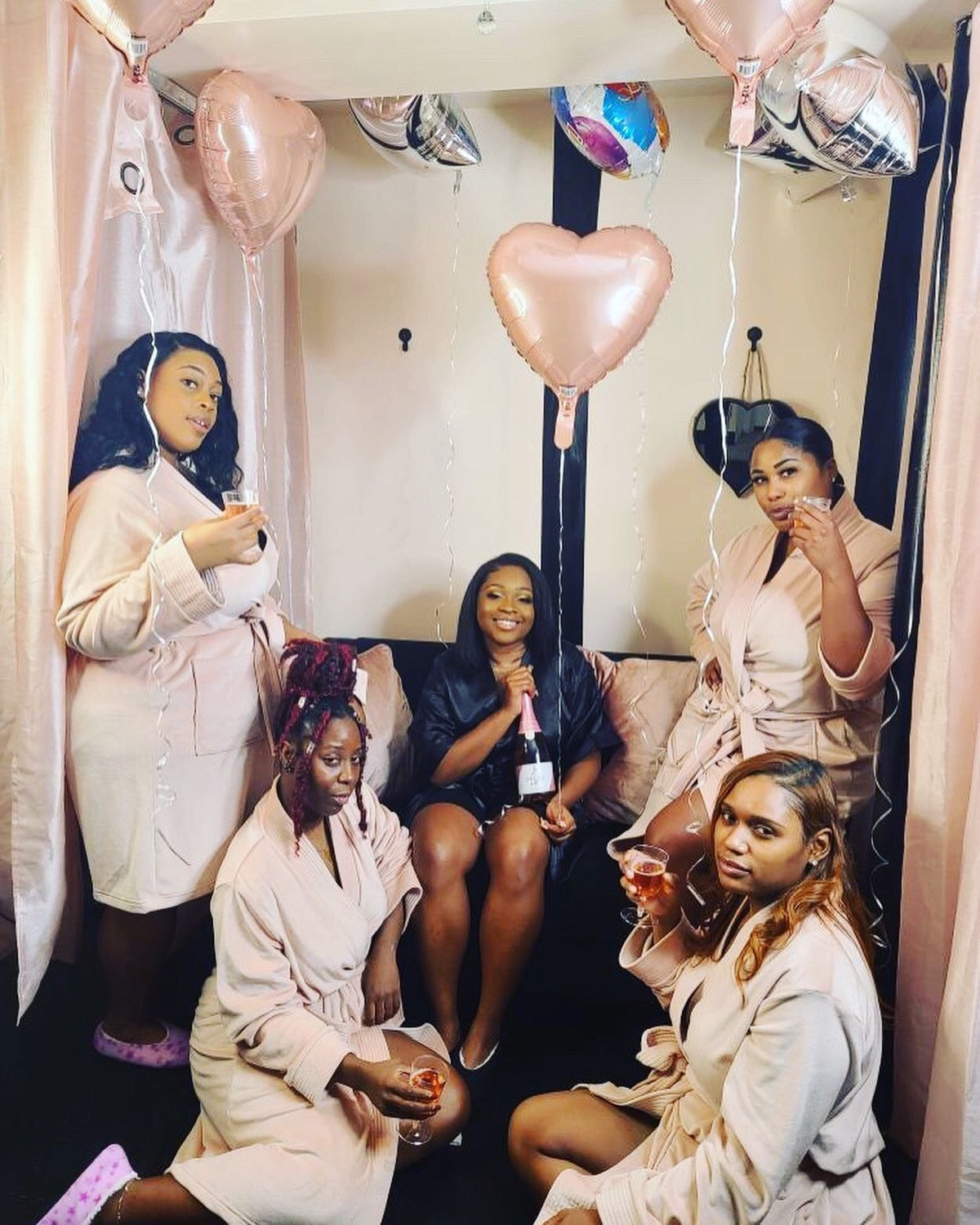 Pamper Party (up to 5 people)$420