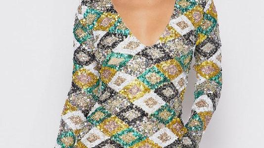 Jamaica Paradise sequins dress