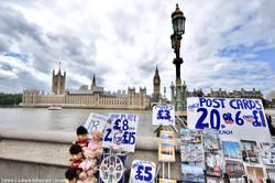 Souvenirs on Westminster Bridge