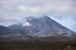 Ngauruhoe Clouds