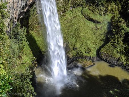 Jess is a Wanderer at Bridal Veil Falls