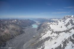 Flying over Mount Cook/Aoraki