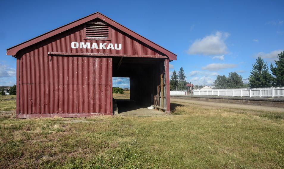 Omakau Wood Shed