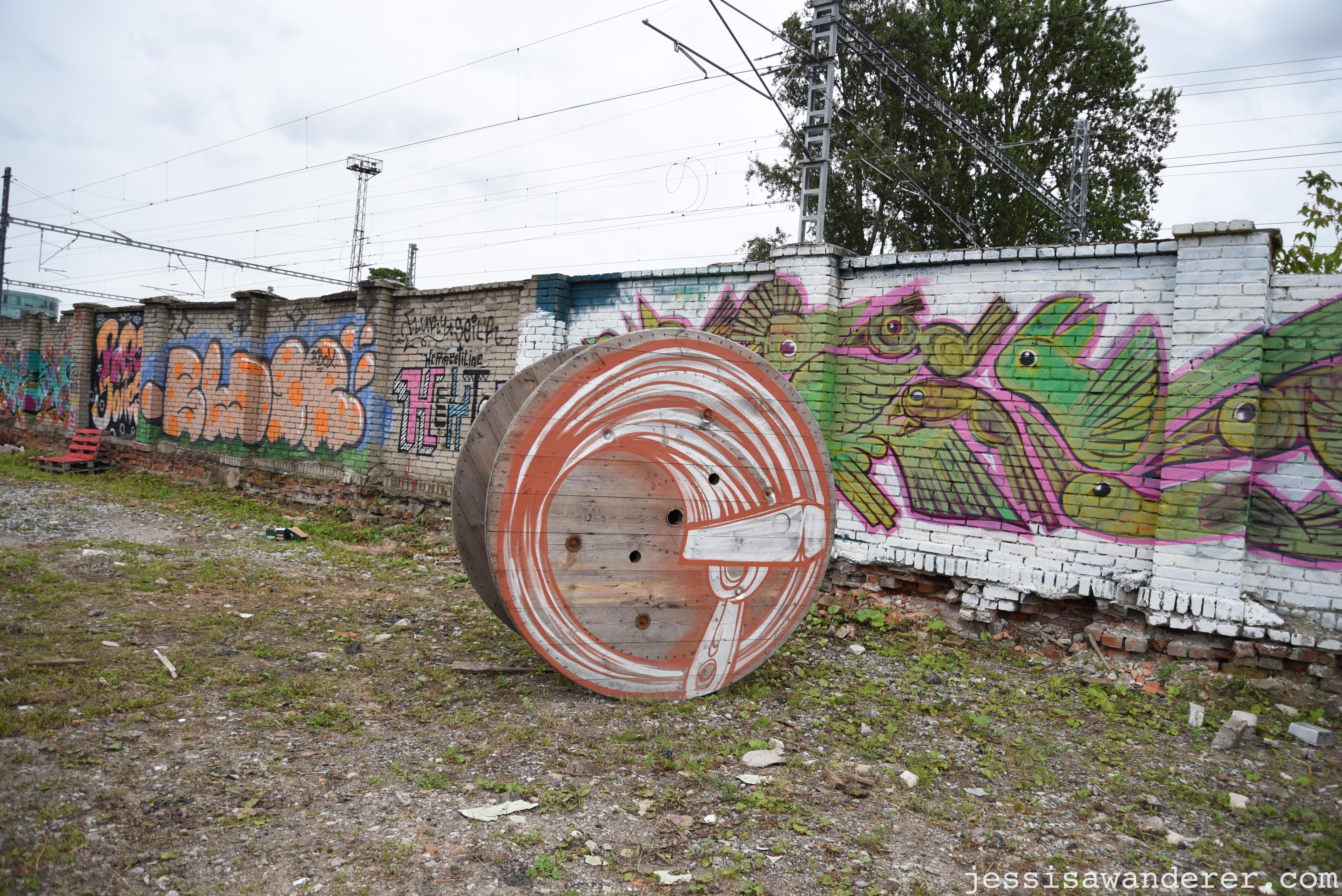 Graffiti at Telliskivi