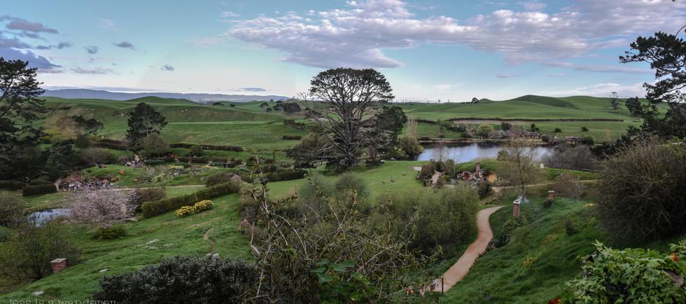 Hobbiton Panorama