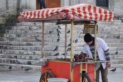Street Food and Pigeons