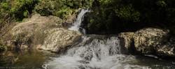 Mid-level of Kaiate Falls