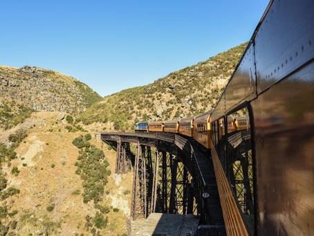Jess is a Wanderer on the Taieri Gorge Railway