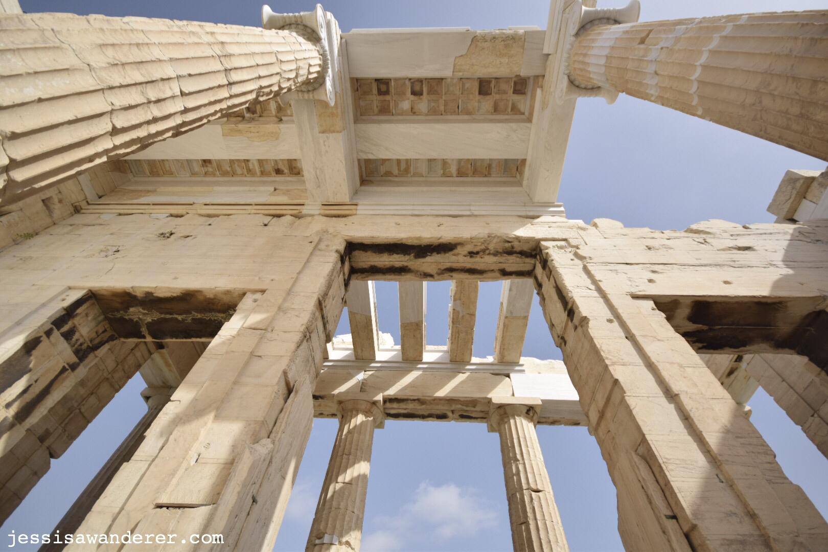 Parthenon Roof