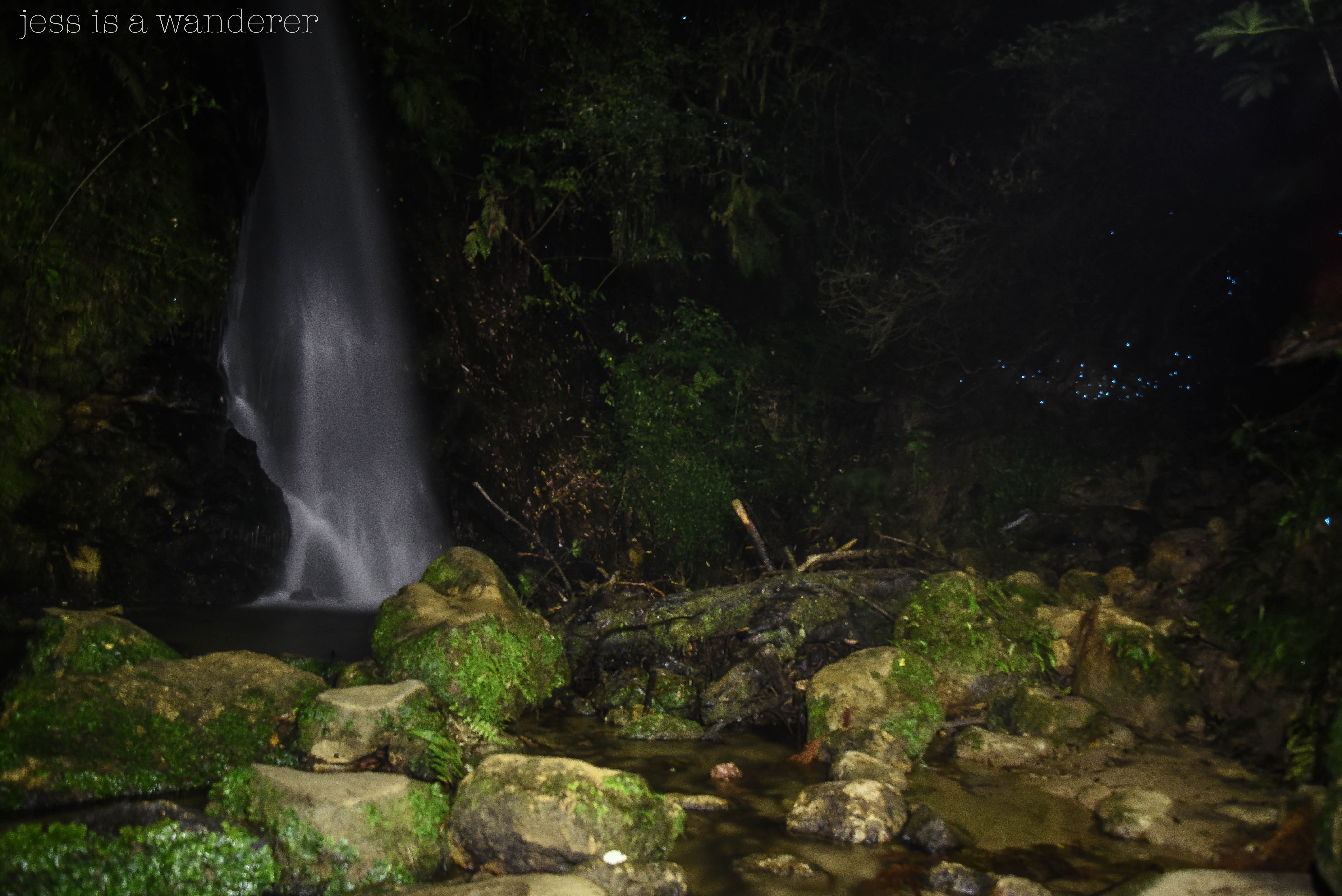 McLaren Falls at Night