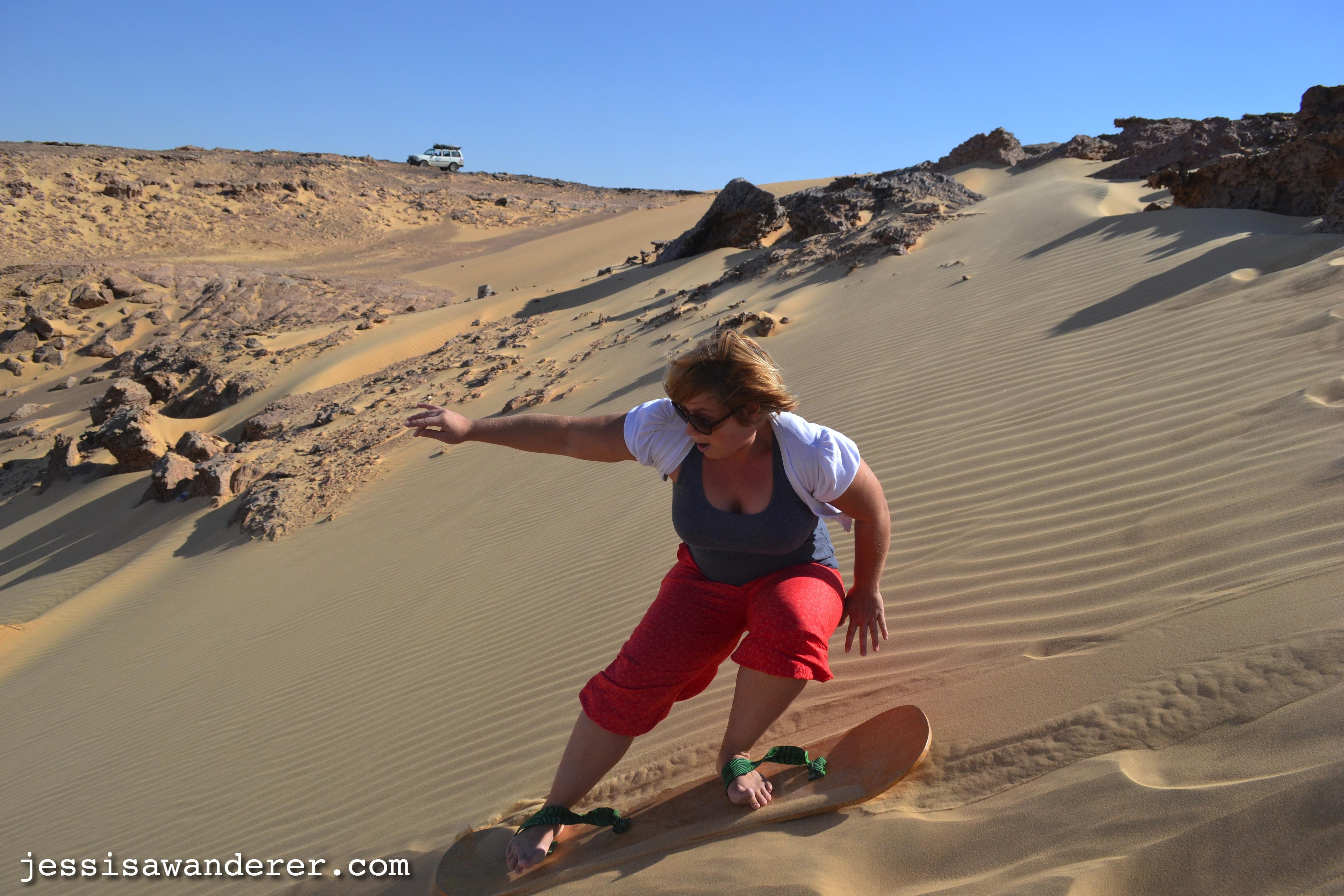 Sandboarding... if you dare