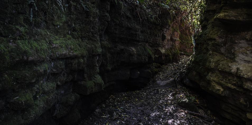 Between the Boulders