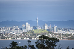 Auckland from Rangitoto Island