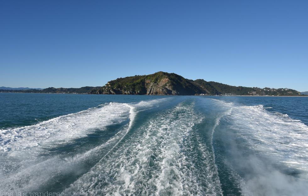 Leaving Whakatane