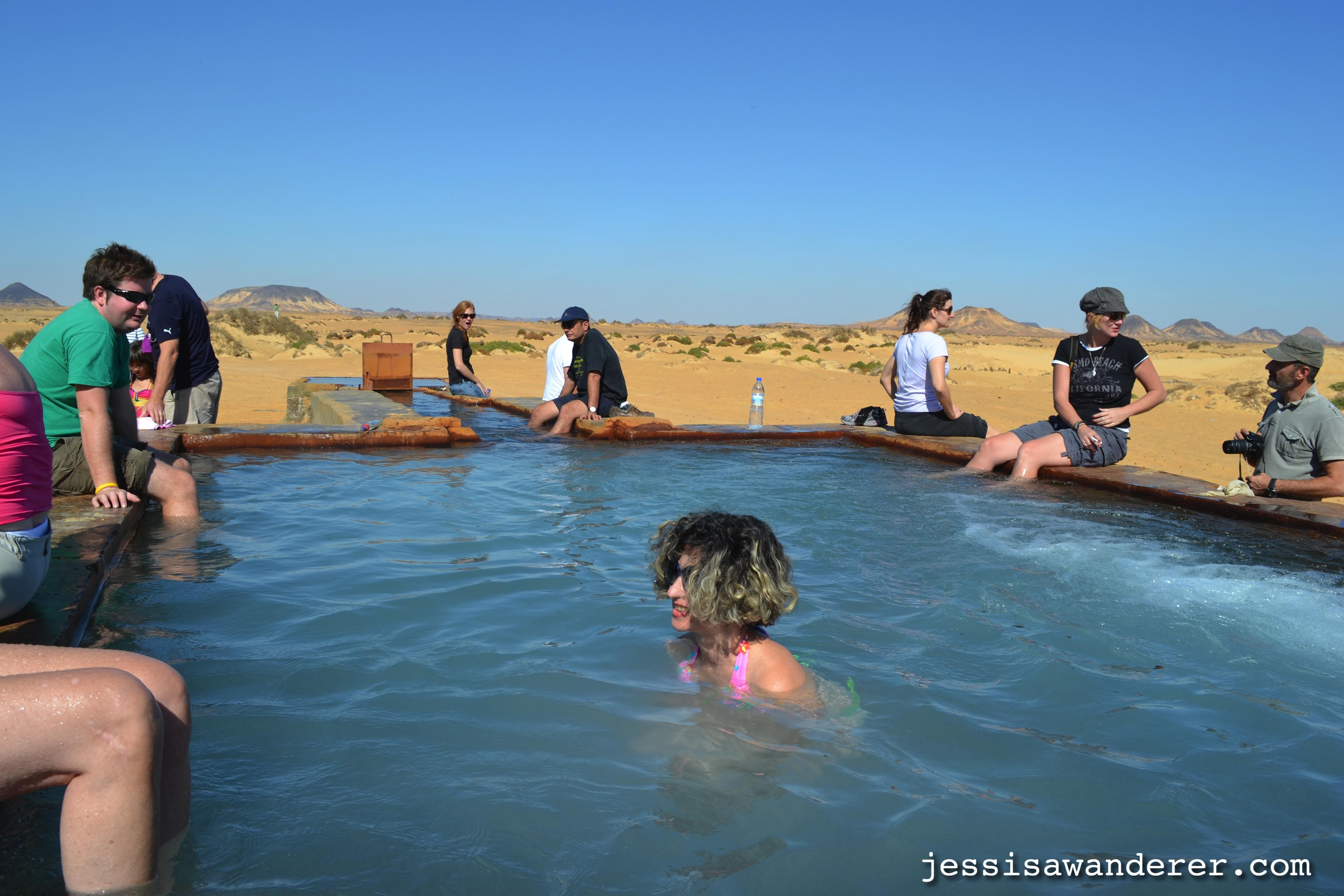 Swim in a Natural Hot Spring