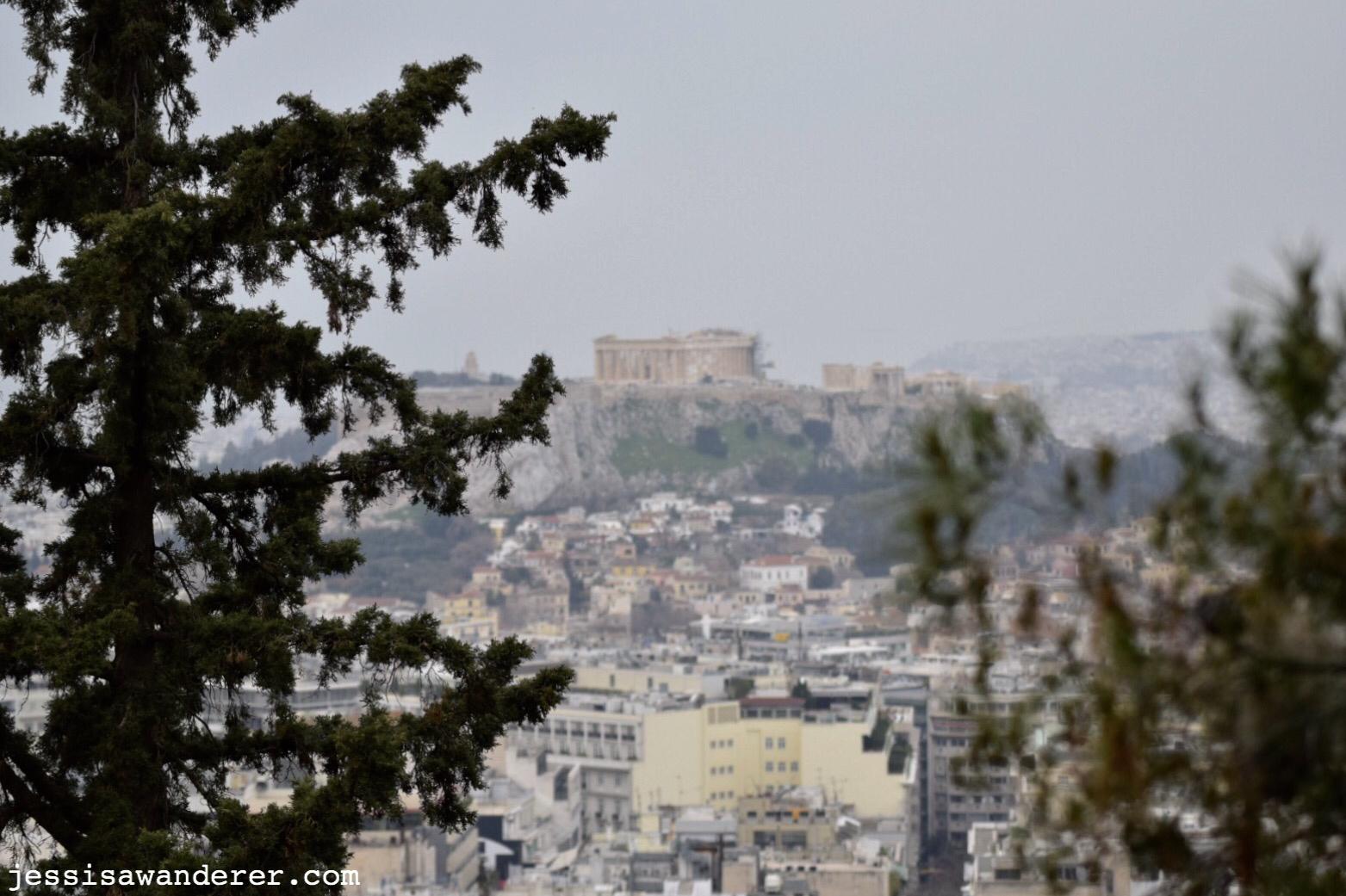 Distant Parthenon