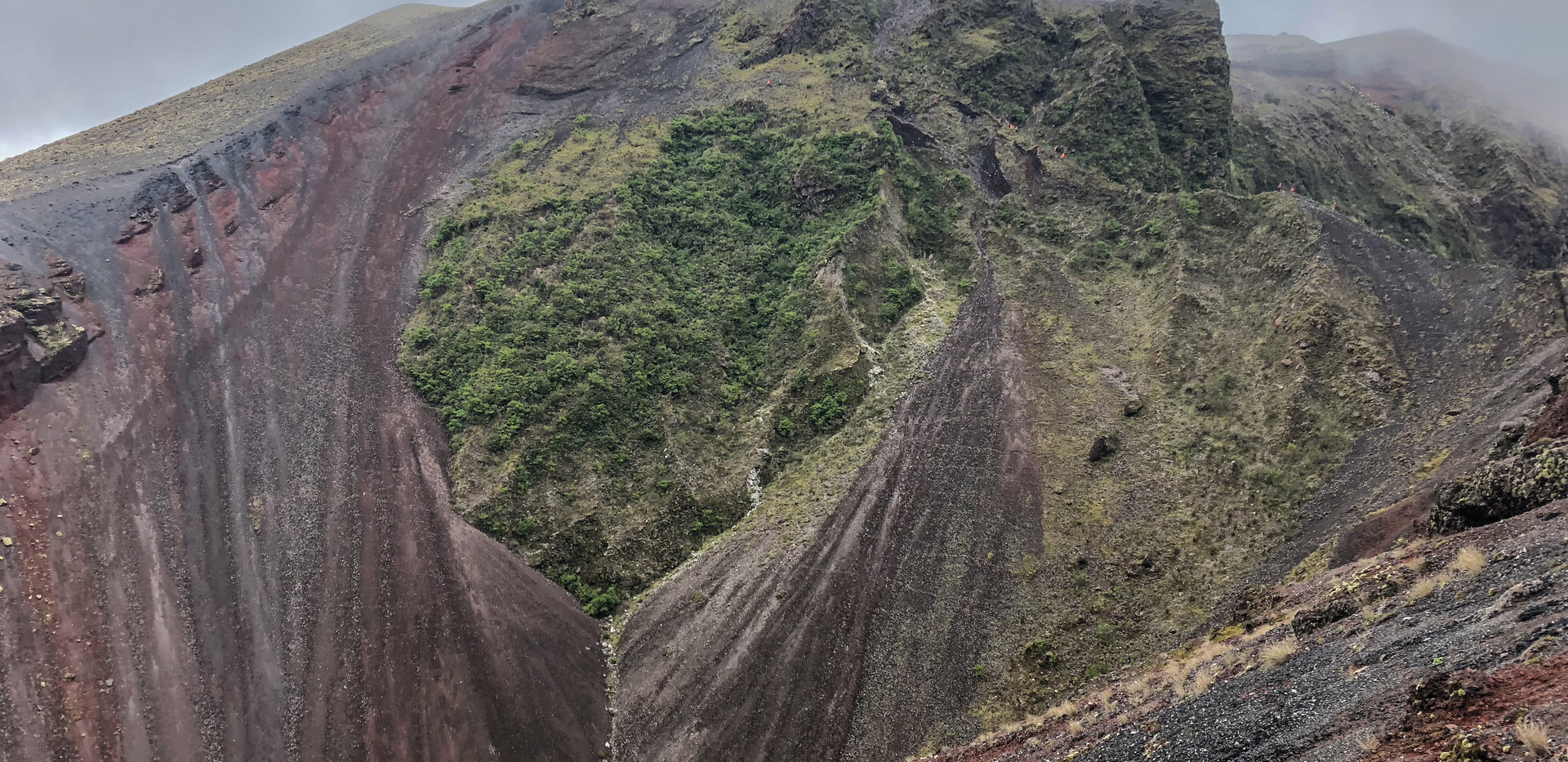 The Crater we Ran (I fell) Down