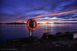 Sunrise at Auckland Ferry Terminal