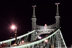 Looking Back at the Chain Bridge