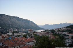 Sunrise over Kotor