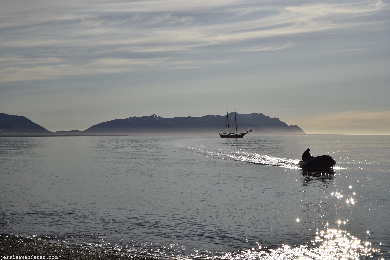 Hazy Sailing