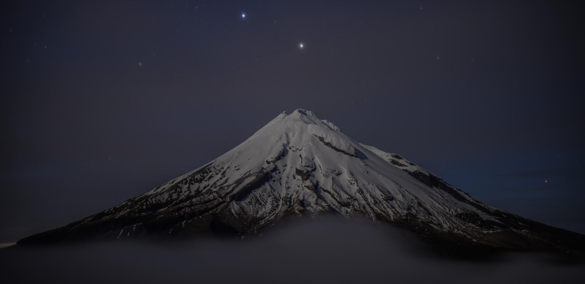 Taranaki and Stars