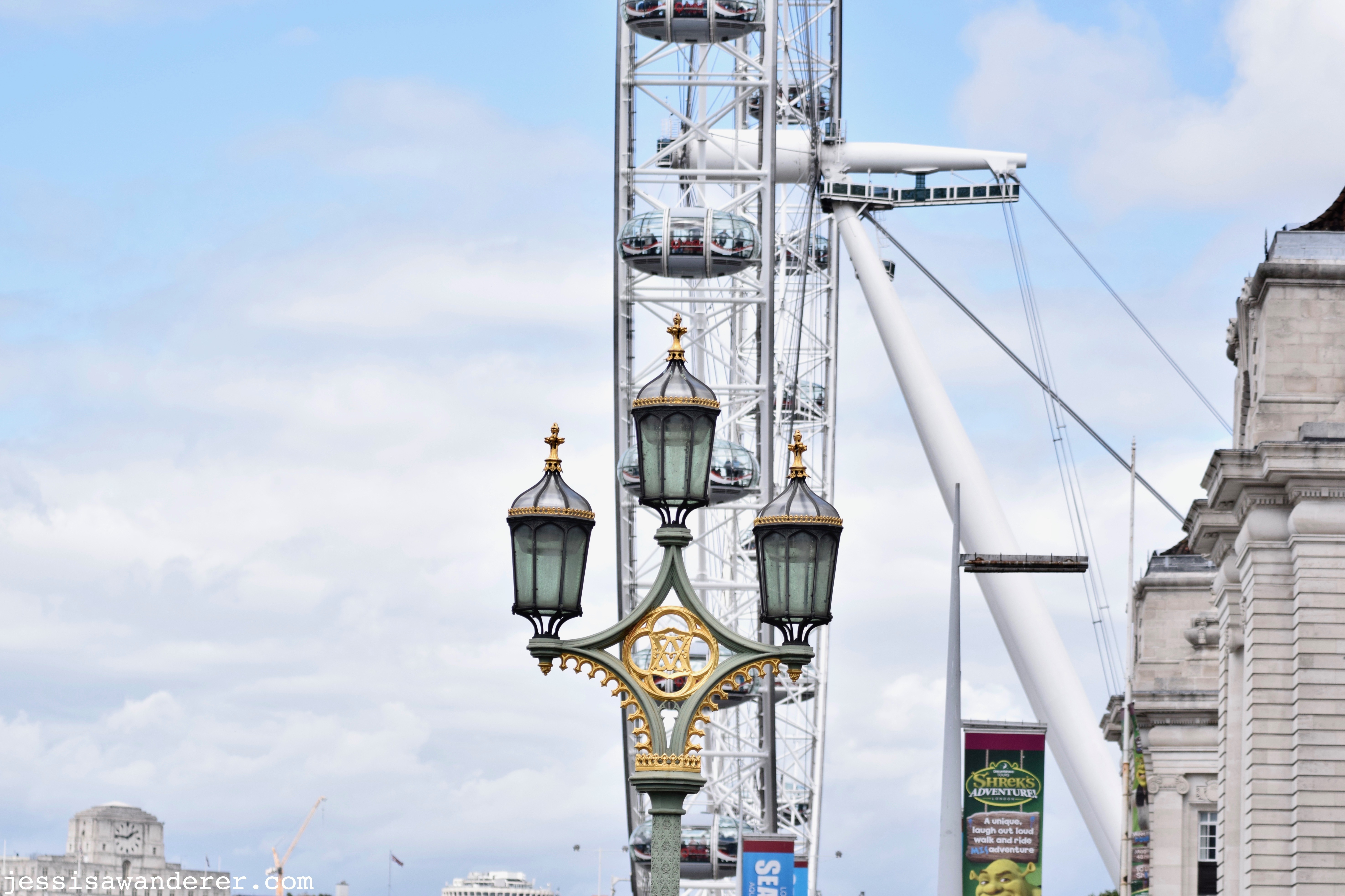 London Eye from Westminster Bridge