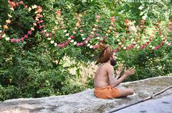 Hindu talking about faith