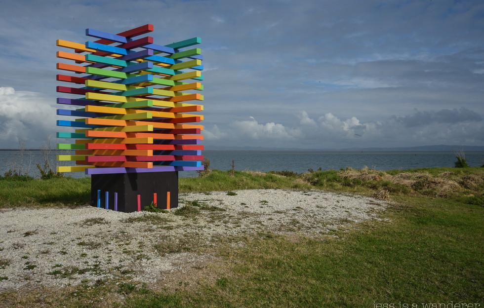 Colourful Sculpture