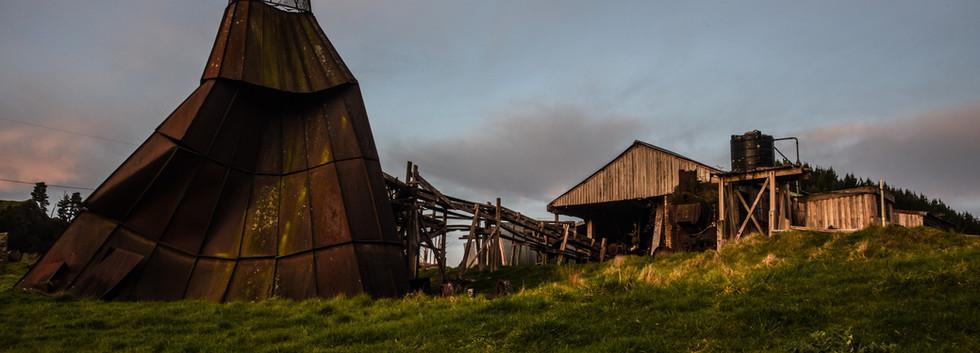 Furnace for Burning Scrap Timber